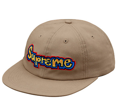 1968c0988a8 Supreme SS18 Gonz Logo 6-Panel Cap BOX LOGO CLASSIC HAT CAMP BEANIE CAMO  WASHED
