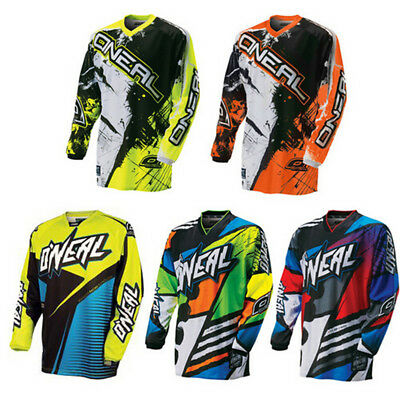 O'Neal Element Afterburner Jersey - MX Motocross Dirt Bike Off-Road ATV MTB Mens