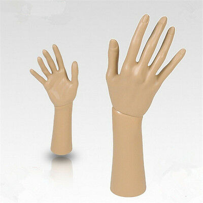 4471 Mannequin Right Hand Display Jewelry Glove Stand Holder Apricot/&Brown