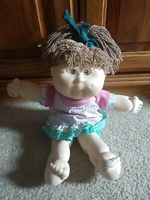 Bows Cabbage Patch Kids Modern PA Lavender Fuzzy Shrug Floral Dress