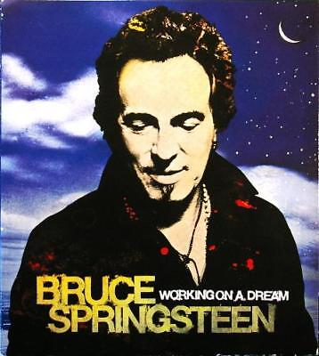 BRUCE SPRINGSTEEN Working On A Dream Columbia ‎88697 46242 2 2009 EU Card CD DVD