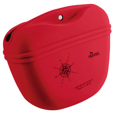 Hunter CHIENS Silicone Sac à bandoulière list rouge, NEUF