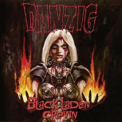 DANZIG - Black Laden Crown  LP  BLACK