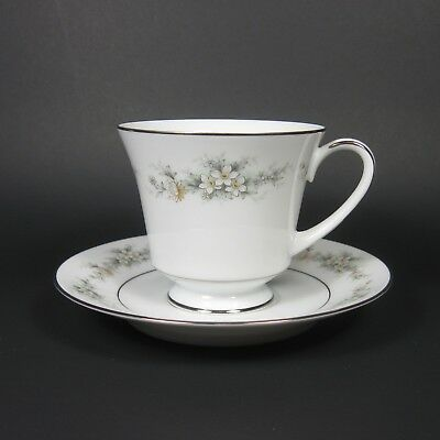Noritake MELISSA Cup & Saucer Set 1 Contemporary Fine China 3080