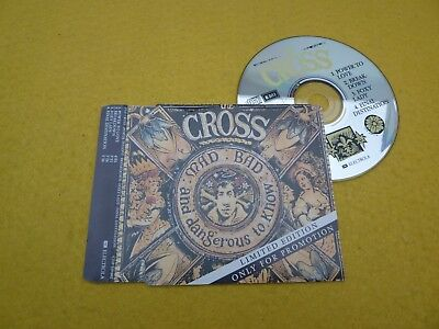 The Cross–Power to love  (EX++/EX++) UlTra R♫Re PROMO single EP  CD ç