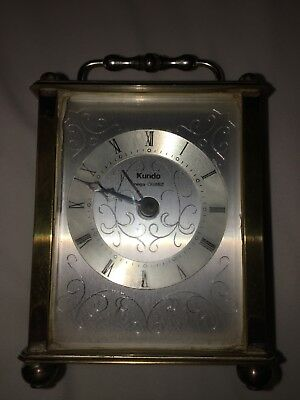 kundo quartz carriage clock