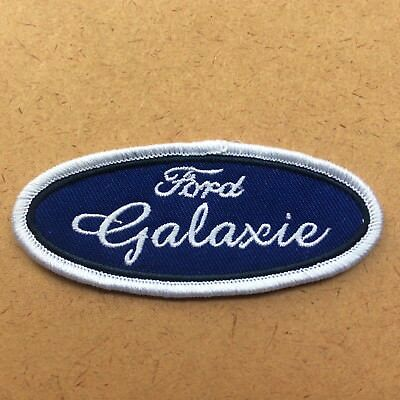 Leather Vest Jacket Patch sew on'FORD GALAXIE' auto car