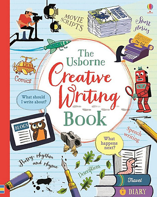 The Usborne Creative Writing Book (hc, spiral)  NEW