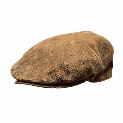 Outback Trading Co - Ascot Cap - Brown