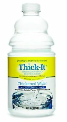 Thickened Water Thick-It® AquaCareH2O® 64 oz. Bottle Unflavored #B450-A5044