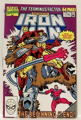 """IRON MAN"" Giant Sized Annual # 11 (1990) (Marvel Comics) f. art by STEVE DITKO"