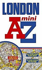London Mini Street Atlas (paperback) (A-Z Street Atlas), Geographers A-Z Map Com