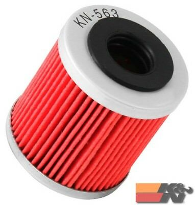 K&N Oil Filter For POWERSPORTS CARTRIDGE KN-563