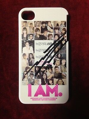 SHINee Minho signed I AM iPhone 4 4S Case autographed Event Prize