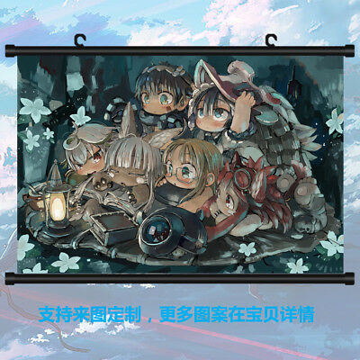 Anime Made in Abyss Otaku DIY Gift Wall Home Decor Scroll Poster 41*56cm #V23