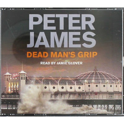 Dead Mans Grip - Audiobook by Peter James (Audio CD), Audio Books, Brand New