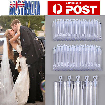 100PCS Wedding Bubble Tubes Wedding Festive Birthday Party Decoration Toys