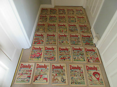 The Dandy Comics X 30 From 1973-Like The Beano-Dc Thompsom-All Are Complete