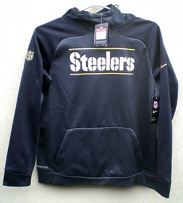 separation shoes 87c72 bc82a steelers therma fit hoodie