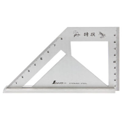 SHINWA Miter Square Metric Stainless Steel Standard Model Carpenter 62081