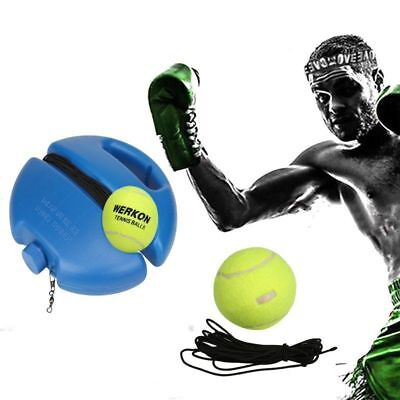 Tennis Back Basic Traine Stretch Rope Practice Ball Alone Trainer Training