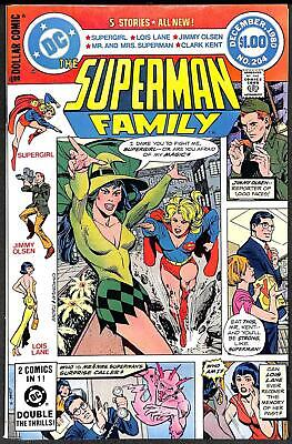 The Superman Family #204 NM 1st Enchantress Cover
