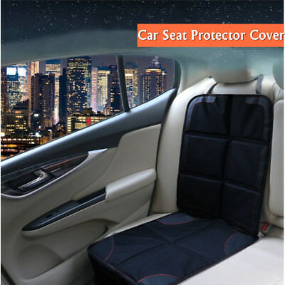 Baby Car Seat Protector Mat Cover Under Child PU Leather Saver UK