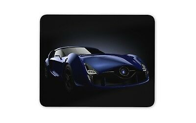Awesome Sports Car Mouse Mat Pad - Racing Cars Dark Blue Fun Gift Computer #8662