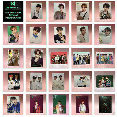 MONSTA X Official PHOTOCARD 6th Mini Album THE CONNECT : DEJAVU Photo Card Only