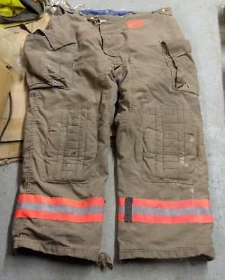 Morning Pride Firemans Turnout  Bunker Pants Gear 44/31 Globe Fire Dex Securitex