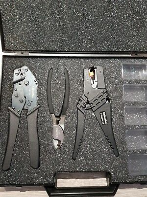 Cableman  Cutter, Cable stripper, Ratchet Crimper In Box brand new...