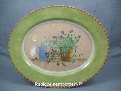 Royal Stafford Gardener's Journal Platter