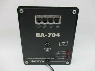 Skutch Electronics Touch Tone Promotion On-Hold Unit, BA-704