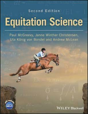 Equitation Science by Paul Mcgreevy Paperback Book Free Shipping!