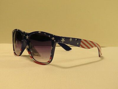 American Flag Red White and Blue Sunglasses, Buy 1 Get 1 Free!! Free Shipping!