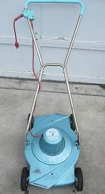 Vintage 1950 S Sea Foam Blue Metallic Sunbeam 1500 Electric Lawn Mower Lqqk
