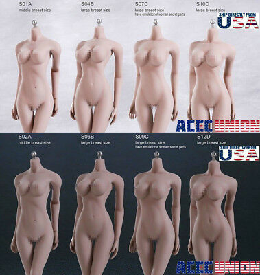 TBLeague PHICEN 1/6 Scale Steel Skeleton FEMALE Seamless Figure Body USA SELLER