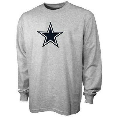 NFL Dallas Cowboys Premier Logo Cotton Long Sleeve T-Shirt XXL