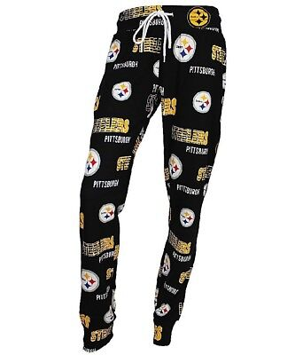 8a60596c PITTSBURGH STEELERS NFL Concepts Sports Sweep Women's Pajama Pants-Size  Large