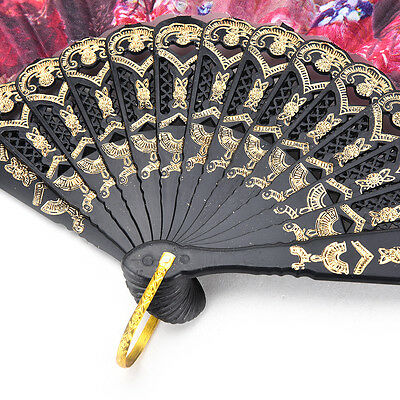 Spanish Flower Lace Folding Hand Dancing Wedding Party Decor Fan Xmas New HI