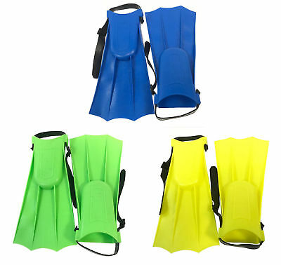Kids Children Junior Swimming Swim Diving Snorkeling Adjustable Flippers Fins