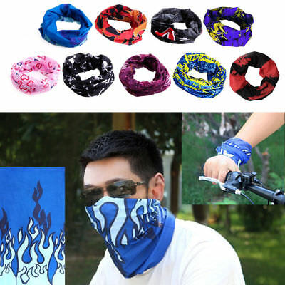 Outdoor Cycling Sport Vogue Head Scarf Magic Headband Face Mask Snood Bandana