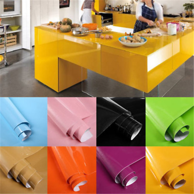 Waterproof Vinyl Decorative Film Self adhesive Wallsticker Kitchen Home Decor