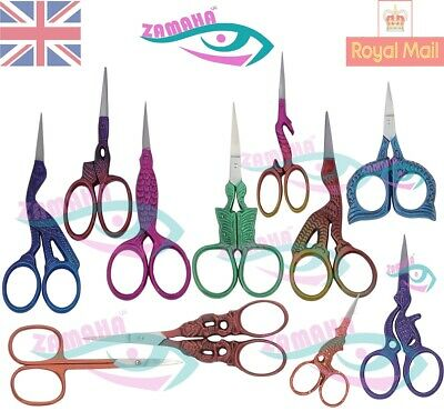 Embroidery Scissors on Ebay, Tailor Stitch Scissors, Stork Scissors, UK Seller