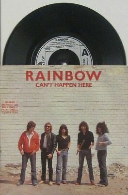 "Rainbow can t happen here / jealous lover , 7"" 45"