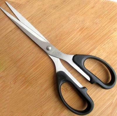 6.3inch household scissors advanced stainless steel scissors household black