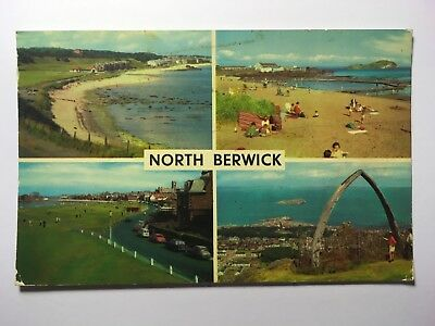 Views of North Berwick - Antique Postcard - Posted 1972