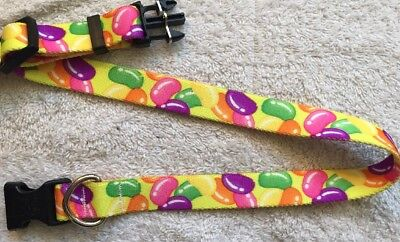 Easter Print Dog Collar - Jelly Beans by Yellow Dog Design - All Sizes