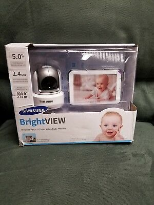 "Samsung BrightVIEW SEW-3043W Wireless Video Baby Monitor 5"" Touch Screen MC6"