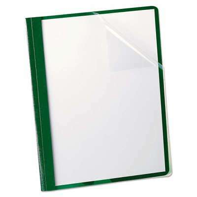 """Oxford Clear Front Report Cover, 3 Fasteners, Letter, 1/2"""" Capac 078787558076"""